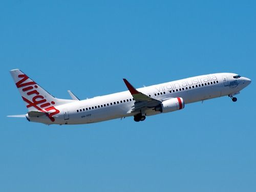 Virgin Australia 737 Type: Boeing 737-8FE Registration: VH-YFF Location: Kingsford Smith International Date: 27/11/2011