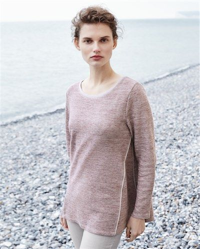 Product Image of Linen and jersey top #MyPoetryFavourites and #PoetryFashion