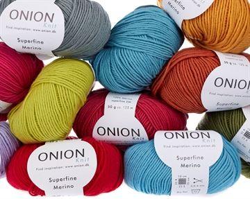 Superfine merinould - Onion