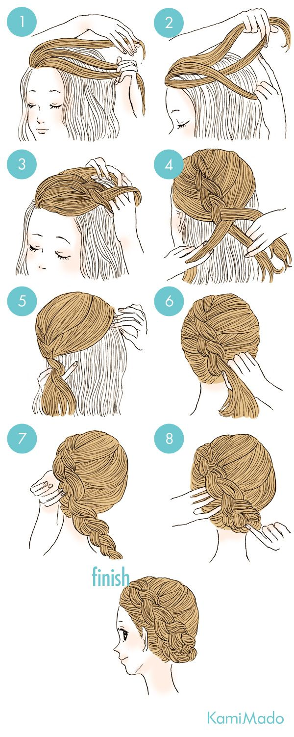New formula for French braid. I have to try this!