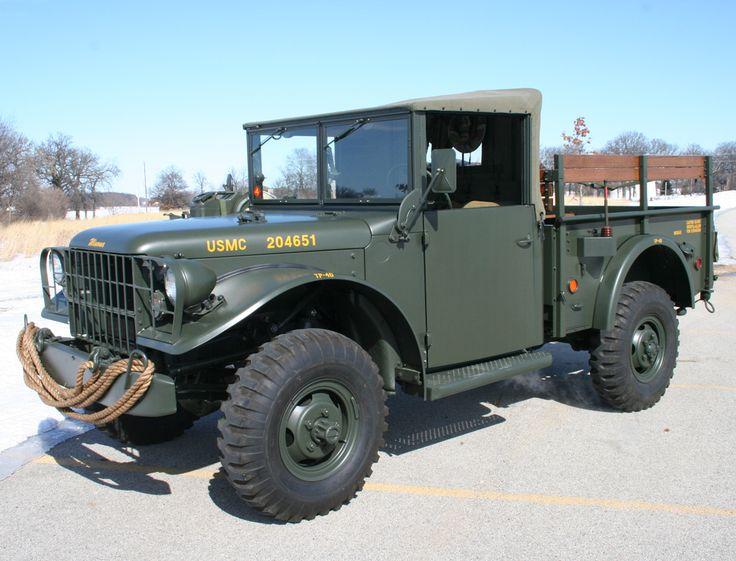 Dodge M37 | M37, POWER WAGON, KAISER etc | Pinterest | Dodge trucks, 4x4 and Jeeps