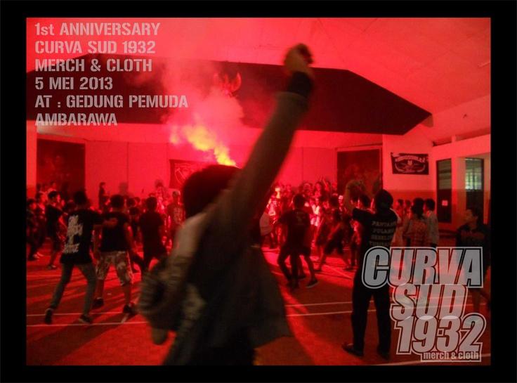 1st anniversary curva sud 1932  5 may 2013