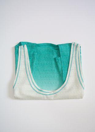 Kup mój przedmiot na #vintedpl http://www.vinted.pl/damska-odziez/bluzki-bez-rekawow/13941138-top-z-wiazaniem-morski-pastelowy-only-m-nowe