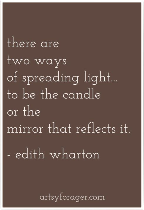 #quotes #light #edithwharton