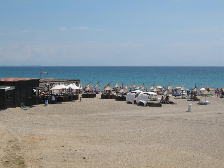 praia cristal em Miami Playa-Tarrogona-local onde passo as minhas férias