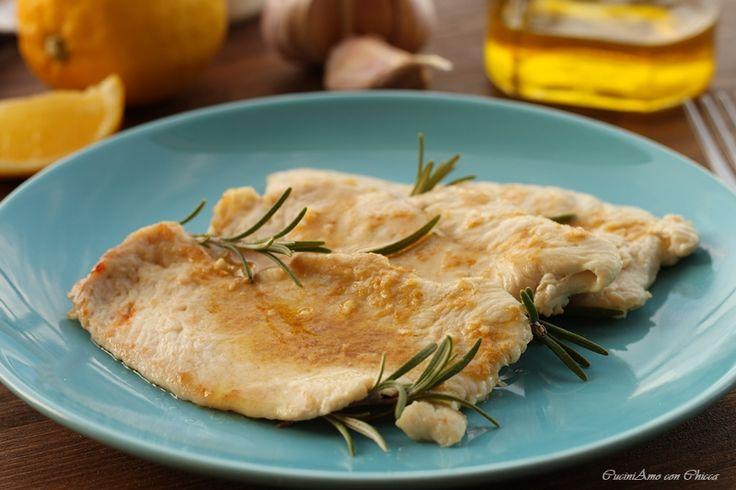 Petto di pollo allo zenzero e limone