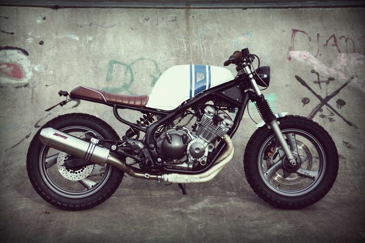 yamaha xj600 diversion street tracker by wrench kings 1 diversion 600 pinterest street. Black Bedroom Furniture Sets. Home Design Ideas