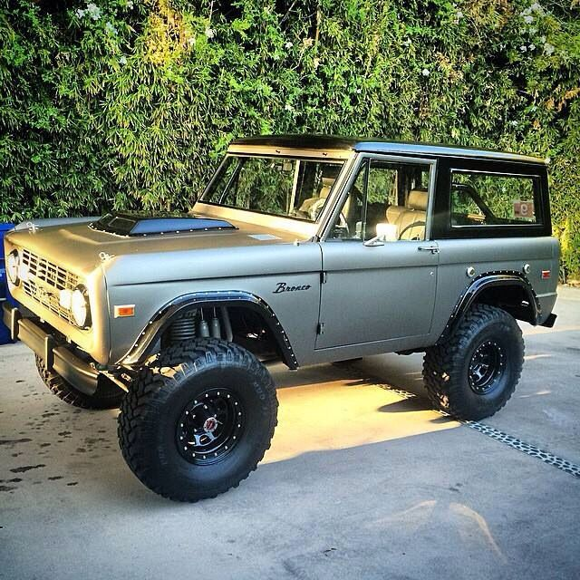 Not my bronco but I like it
