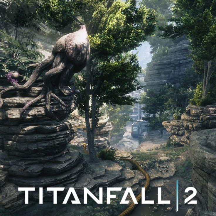 Titanfall 2 - MP Crashsite, Jacob Virginia on ArtStation at https://www.artstation.com/artwork/x2qxR