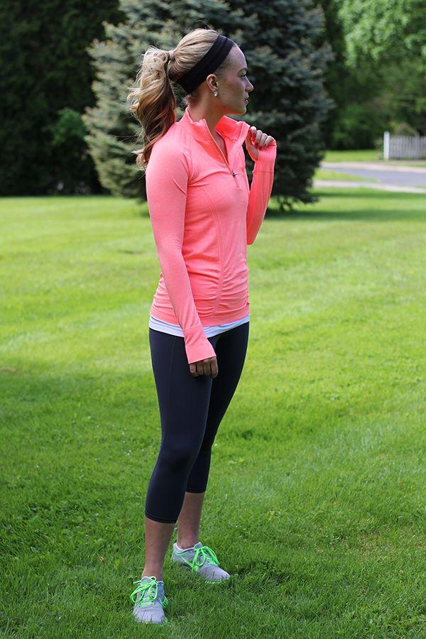 Style Cusp // Athleta Zip Up and Capri Pant