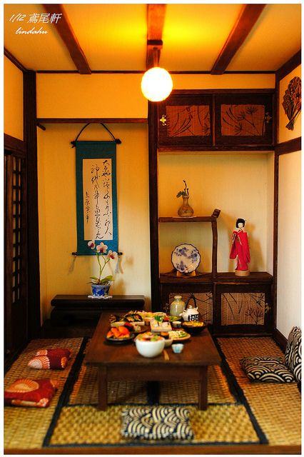 Japanese dollhouse - so cute!!