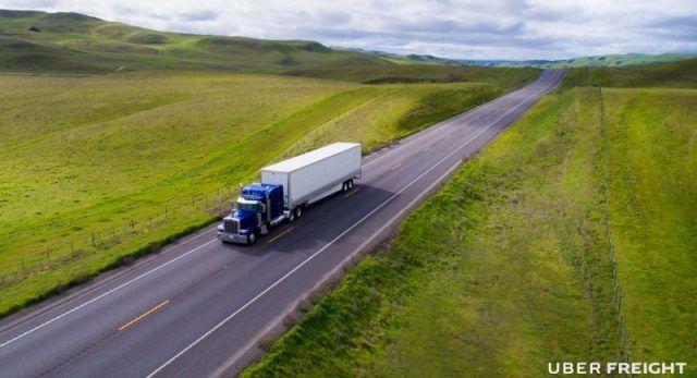 Uber Freight la app para transportistas de carga pesada