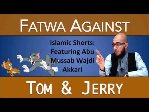 "http://www.answeringmuslims.com Here's a clip of Abu Mussab Wajdi Akkari explaining the Islamic view of cartoons like ""Tom and Jerry,"" which promote unbelief..."