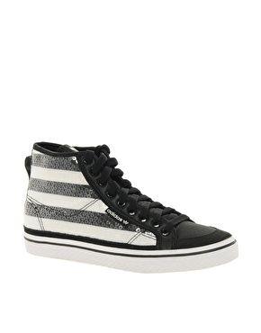 Adidas Honey Sequin Mid Sneakers