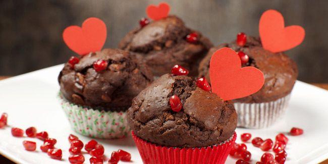 Cupcakes Cokelat Enak Untuk Valentine