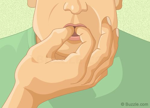 Whistle Loudly Using Index Finger and Thumb.