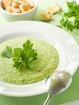 Zimní brokolicová polévka