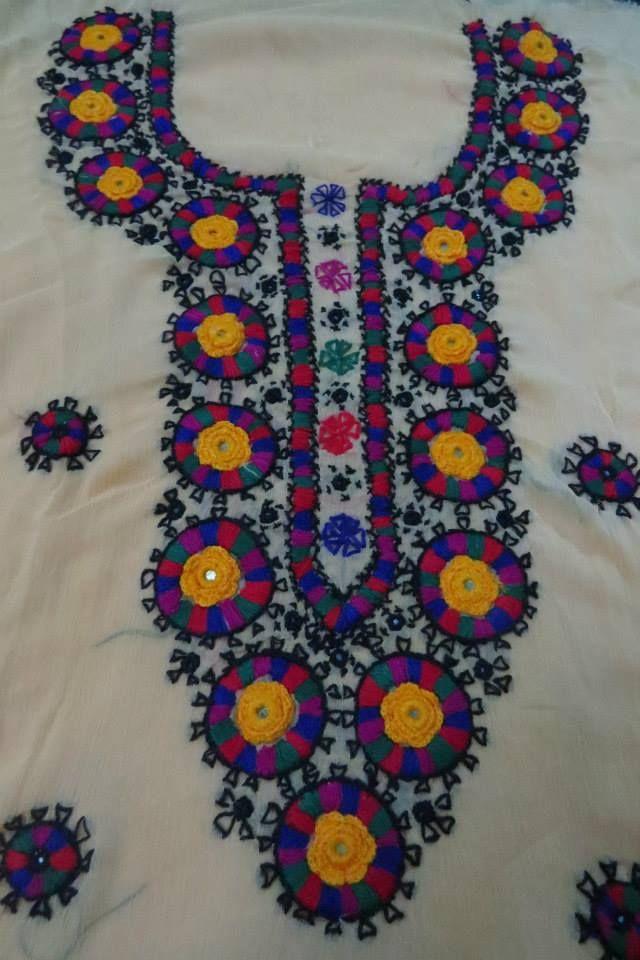 Multani embroidery clothes makaroka
