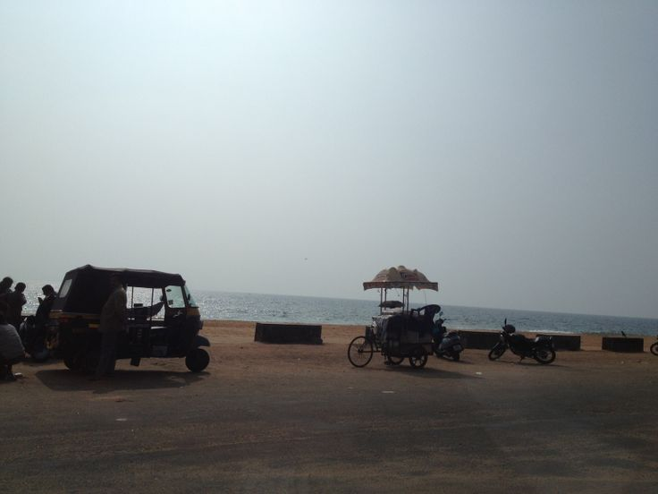 I had always traveled in the north of India. Now it was time for the south. Landed in Thiruvananthapuram and took my first picture while there of the ocean.  http://www.InnerOuterYou.com