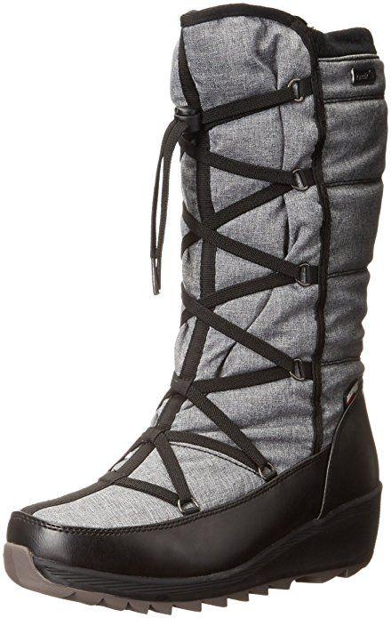 Kamik Women's Merlot Snow Boot, Charcoal, ...