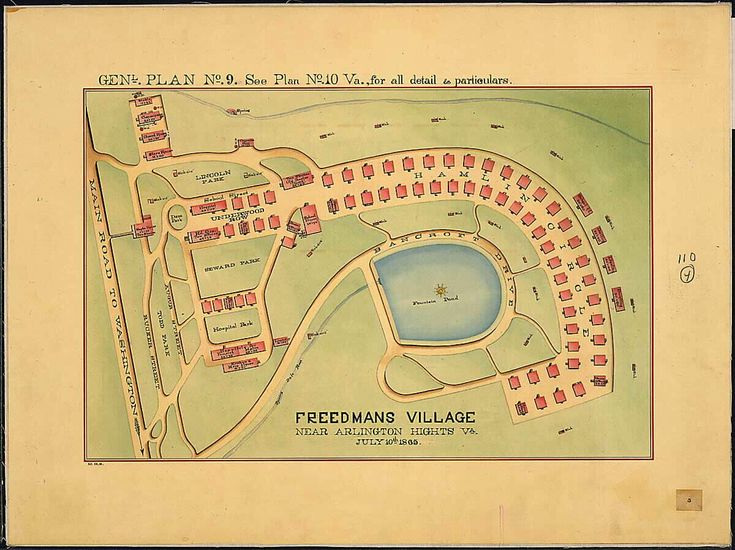 Freedman's Village - Arlington National Cemetery