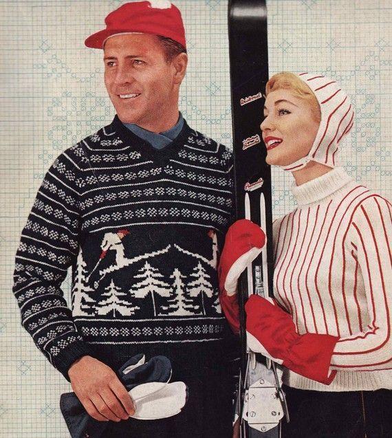 1950s men/'s ski jumper