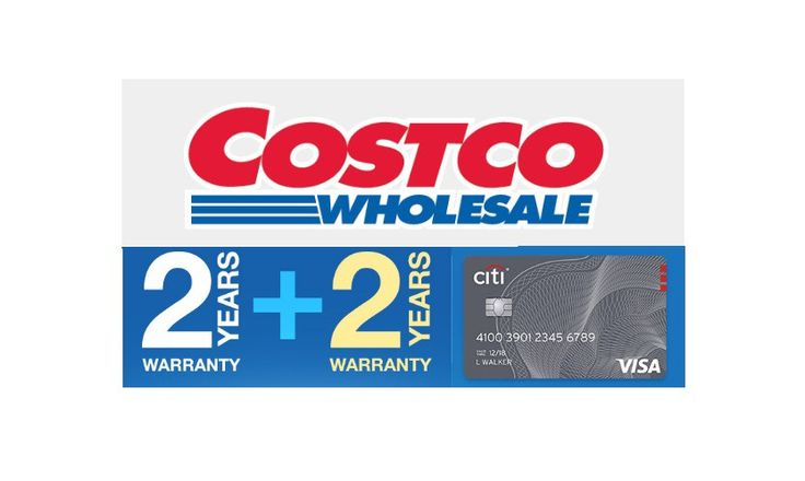 Get 4 Years Extended Warranty on Costco Purchases with the Costco Anywhere Visa Card by Citi