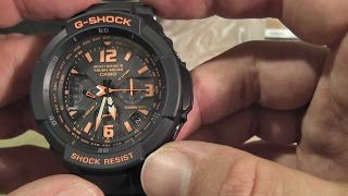 luxury watch review: Casio Men's GW3000B-1ACR G-Shock Solar Power Black...