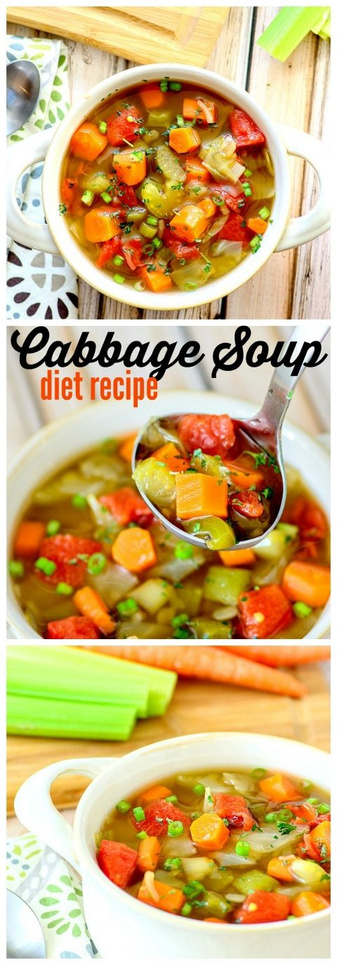 Cabbage Soup Recipe for the Cabbage Soup Diet, fantastic, tasty and more delicious than you can imagine
