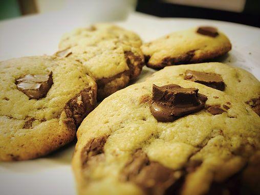 Cookies com Chocolate SEM açúcar mascavo!