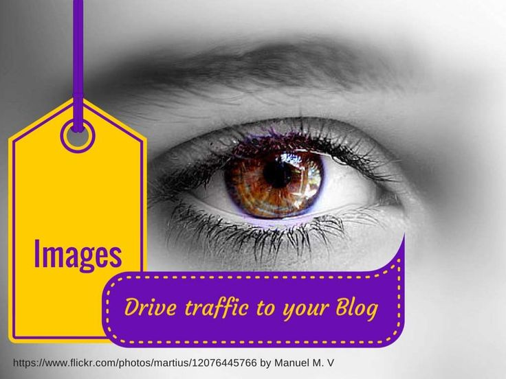 Images drive traffic to your blog by 4FreePeople via slideshare