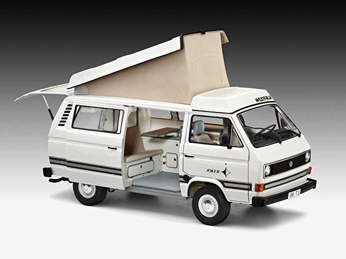 Revell 1 25 Volkswagen T3 Camper Toys Games Volkswagen Volkswagen Bus Recreational Vehicles