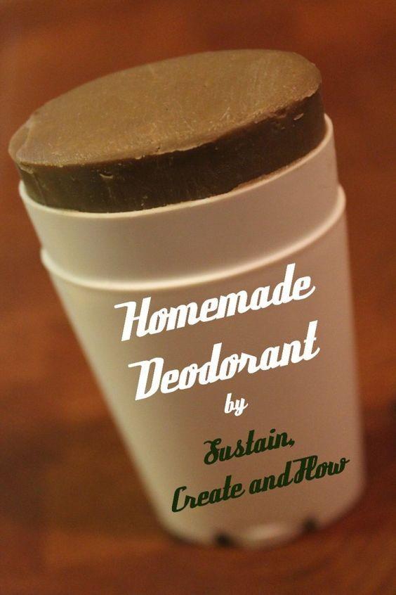 DIY Homemade Deodorant                                                                                                                                                                                 More
