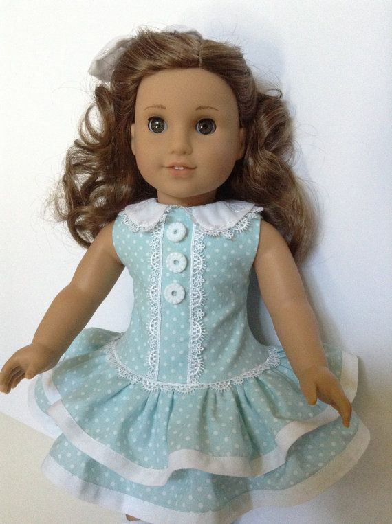 American Girl 18-inch Doll Clothes Ruffled by HFDollBoutique