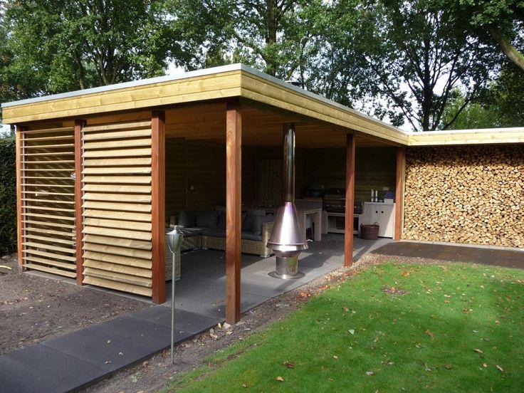 Buitenkeuken Bouwen : Overkapping lounge gedeelte/ buitenkeuken: Gedeelte Tuin, Garden Ideas