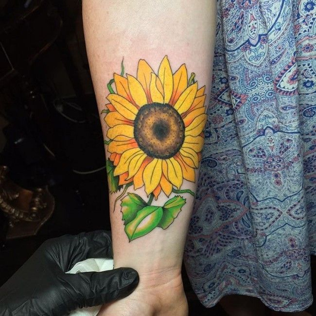 150+ Vibrant Sunflower Tattoo Designs & Meanings cool