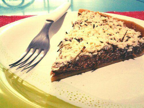 Torta fria de Atum e Requeijão