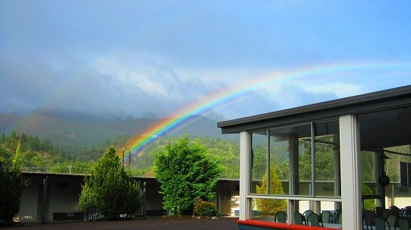 #Rainbow #Queenstown Photo by Angela Roundhill, article for think-tasmania.com