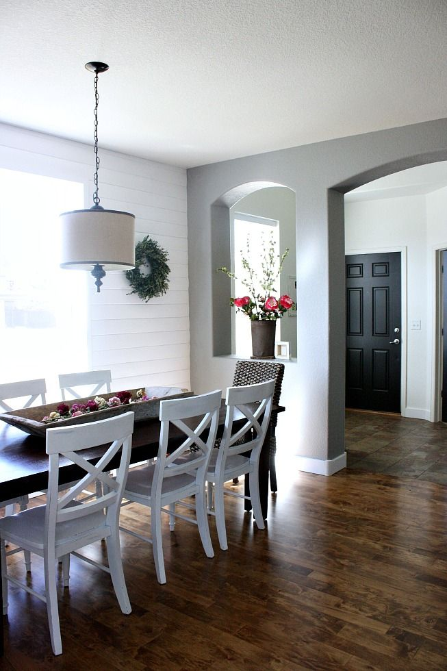 Looking For A Fresh New Color Scheme For Your Dining Room? Think Grayscale!  Having