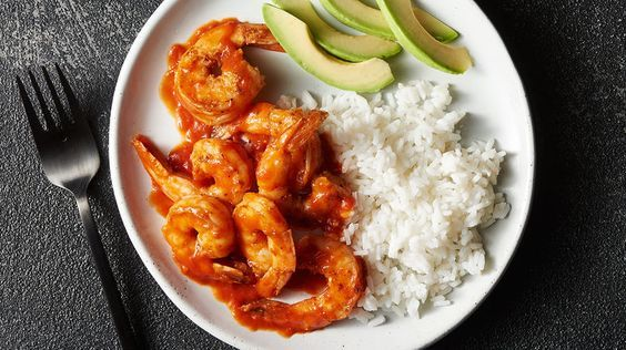 """I really like """"shrimp a la diabla"""" and would like to share one of my favorite shrimp recipes with you today. It has a picante sauce and is known as """"camarones a la diabla"""" in Mexico. Shrimp is in season and it can be prepared in so many ways. Do you dare to try """"shrimp a la diabla""""? Let's get cooking!"""
