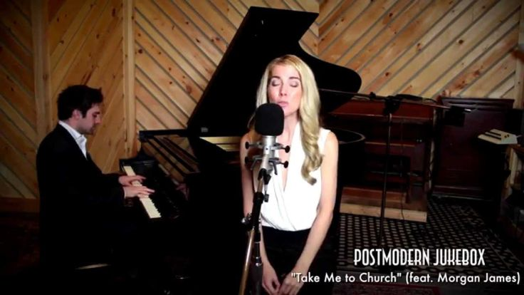 Superb ! ;-) Take Me To Church - Piano / Vocal Hozier Cover ft. Morgan James