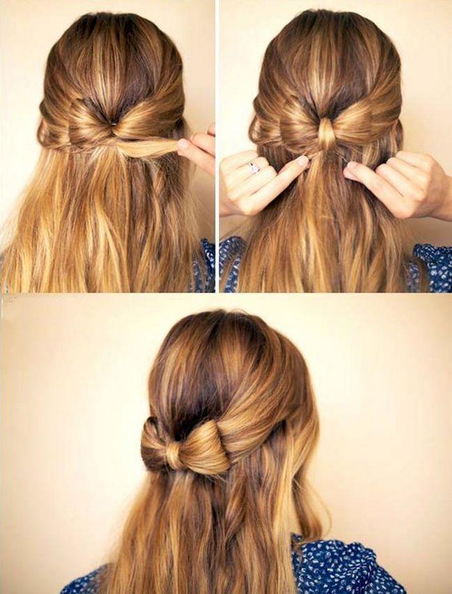 """awesome 50 Идей как сделать прическу """"бант из волос"""" пошаговая инструкция Читай больше http://avrorra.com/bant-iz-volos-foto/"""