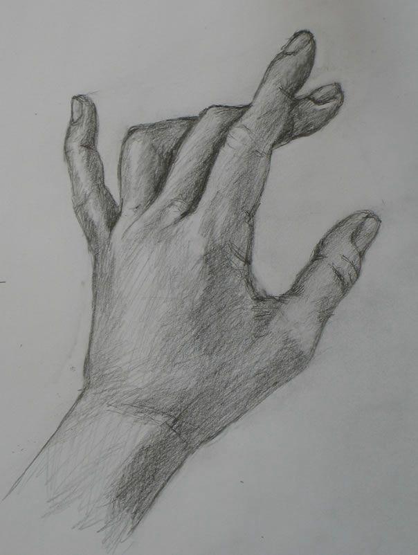 рисунок рука в руке карандашом фото лучше показывать
