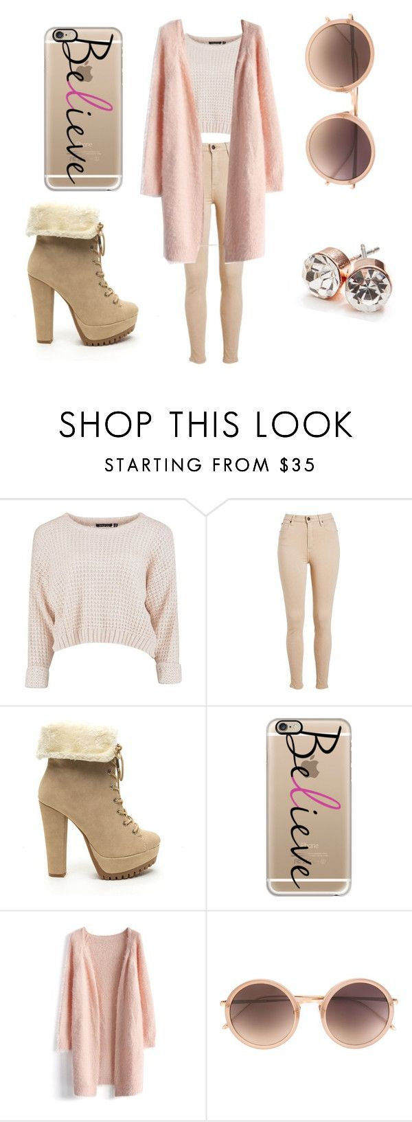 like chanel number 1 by lolol-gg on Polyvore featuring Chicwish, GUESS, Casetify and Linda Farrow