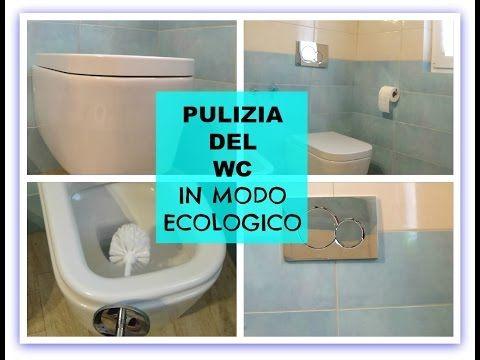 PULIZIA DEL WC. SANITARI PULITI IN MODO ECOLOGICO