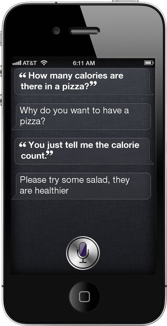 """She speaks my language! """"Please try some salad, they are healthier"""""""