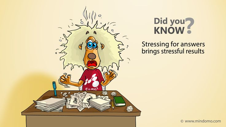 Stress is the ultimate productivity killer.