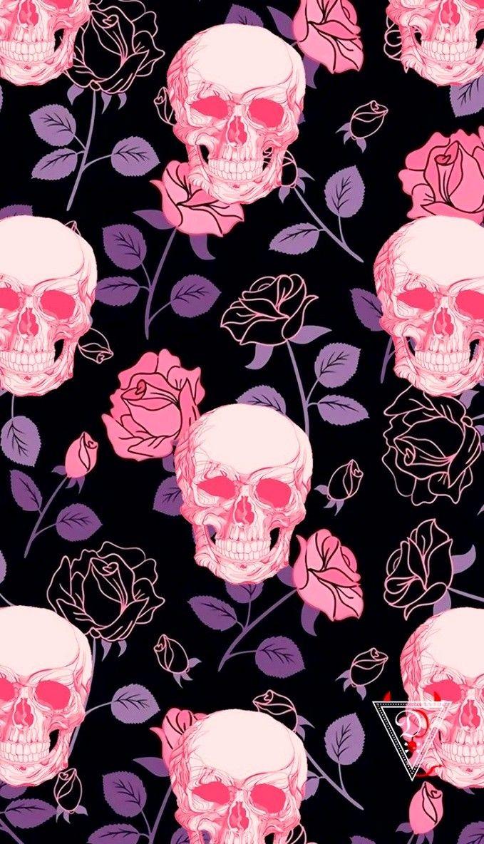 Pin By Krista Spies On Skull Wallpaper Skull Wallpaper