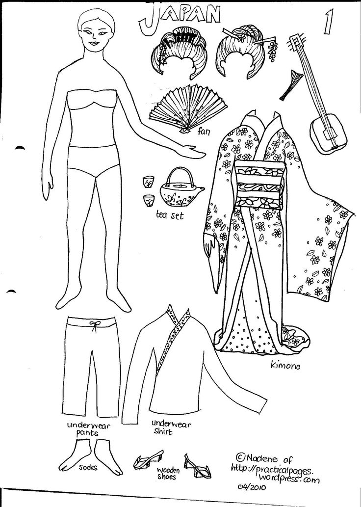 Best Printable Paper Dolls Images On   Paper