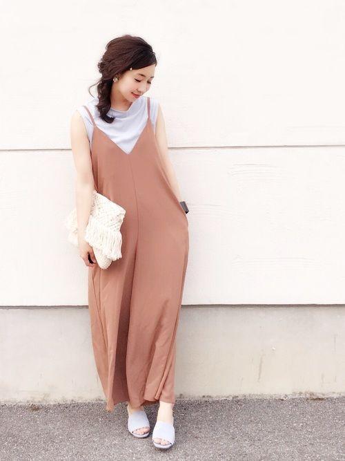 インナーセットのキャミソールサロペット♡ どの色も可愛いくて迷いました(^ ^)♡ サロペット/M